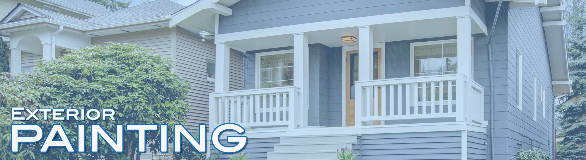 Luna Restoration Exterior Painting Company Raleigh Cary Nc - Exterior-painting-house