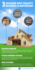 Infographic about roofing.